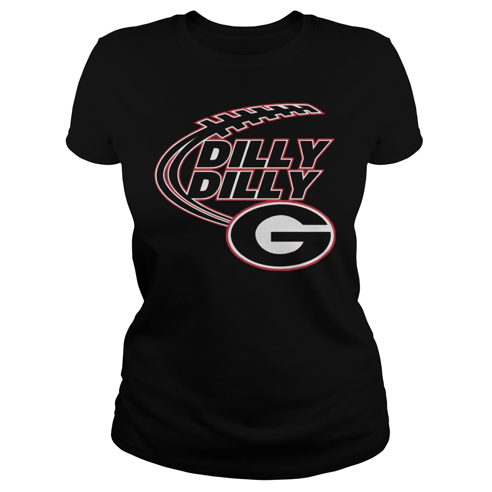 Dilly Dilly Georgia Bulldogs Ladies Tee