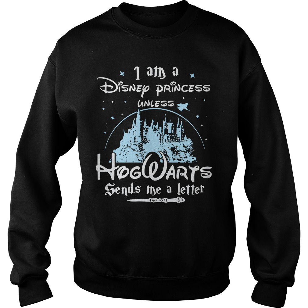 Disney Princess Unless Hogwarts Send Letter Sweater