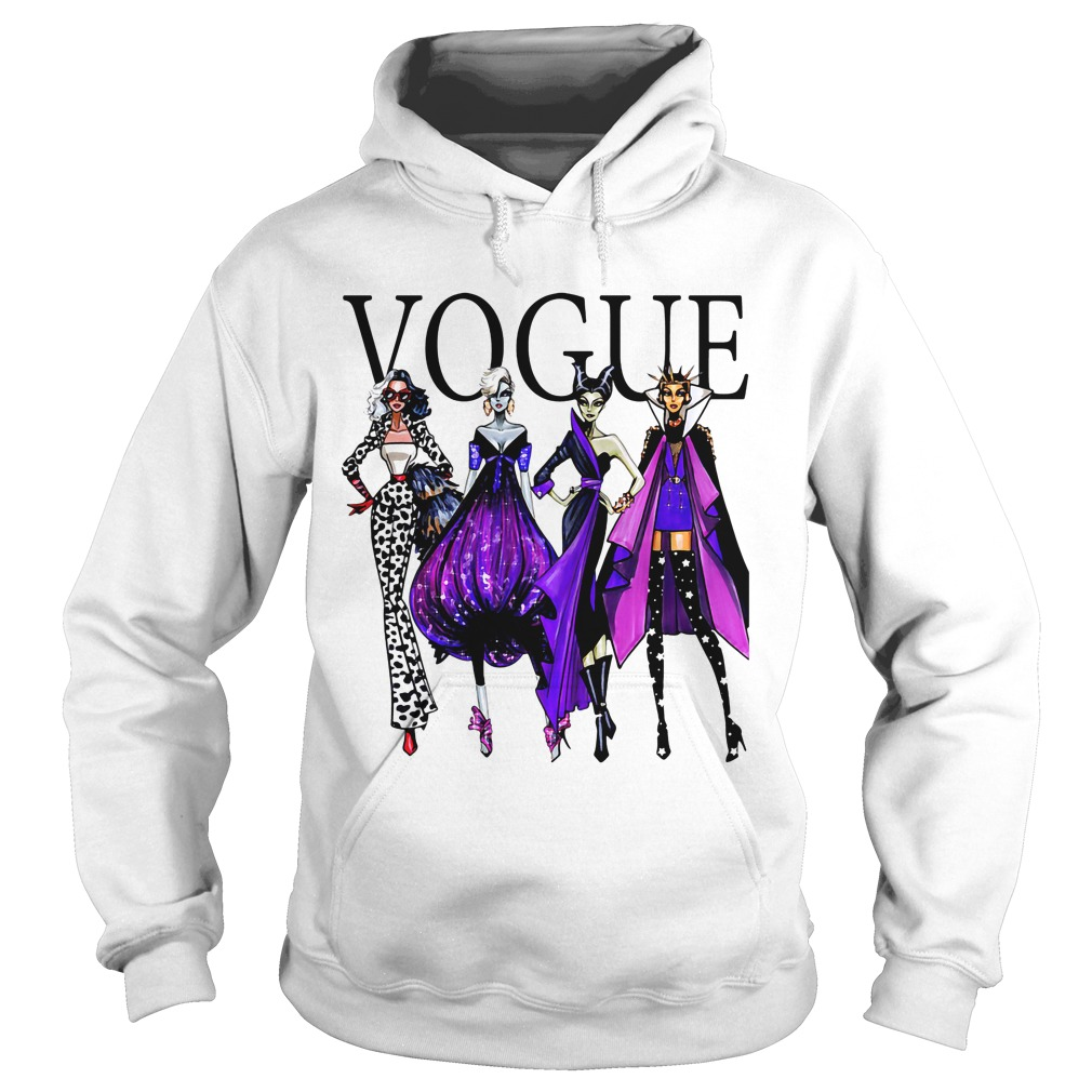 disney villains vogue shirt hoodie sweater and v neck t. Black Bedroom Furniture Sets. Home Design Ideas