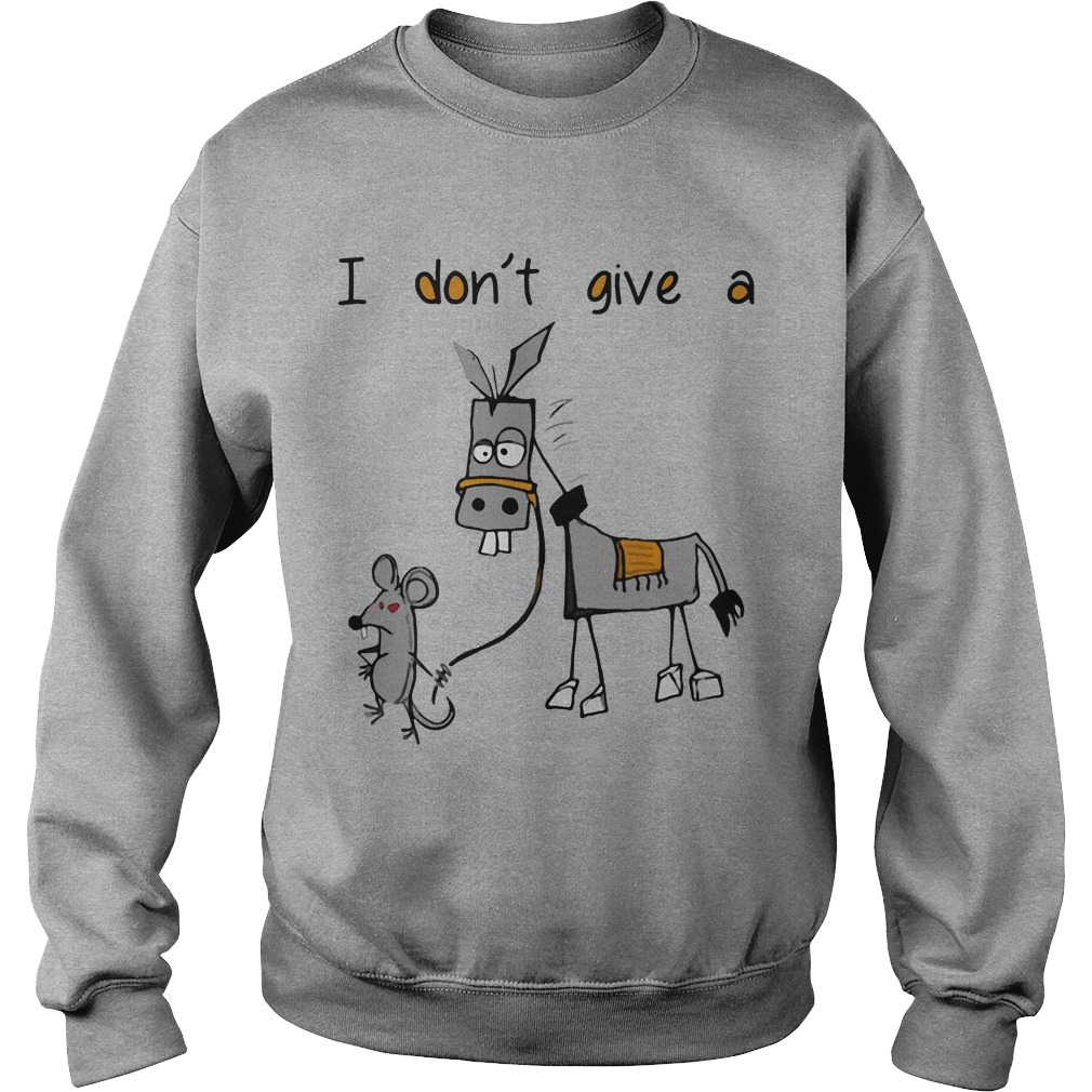 Dont Give Mouse Walking Donkey Sweater