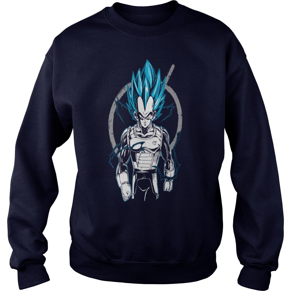 Dragon Ball Super Saiyan Vegeta God Sweater