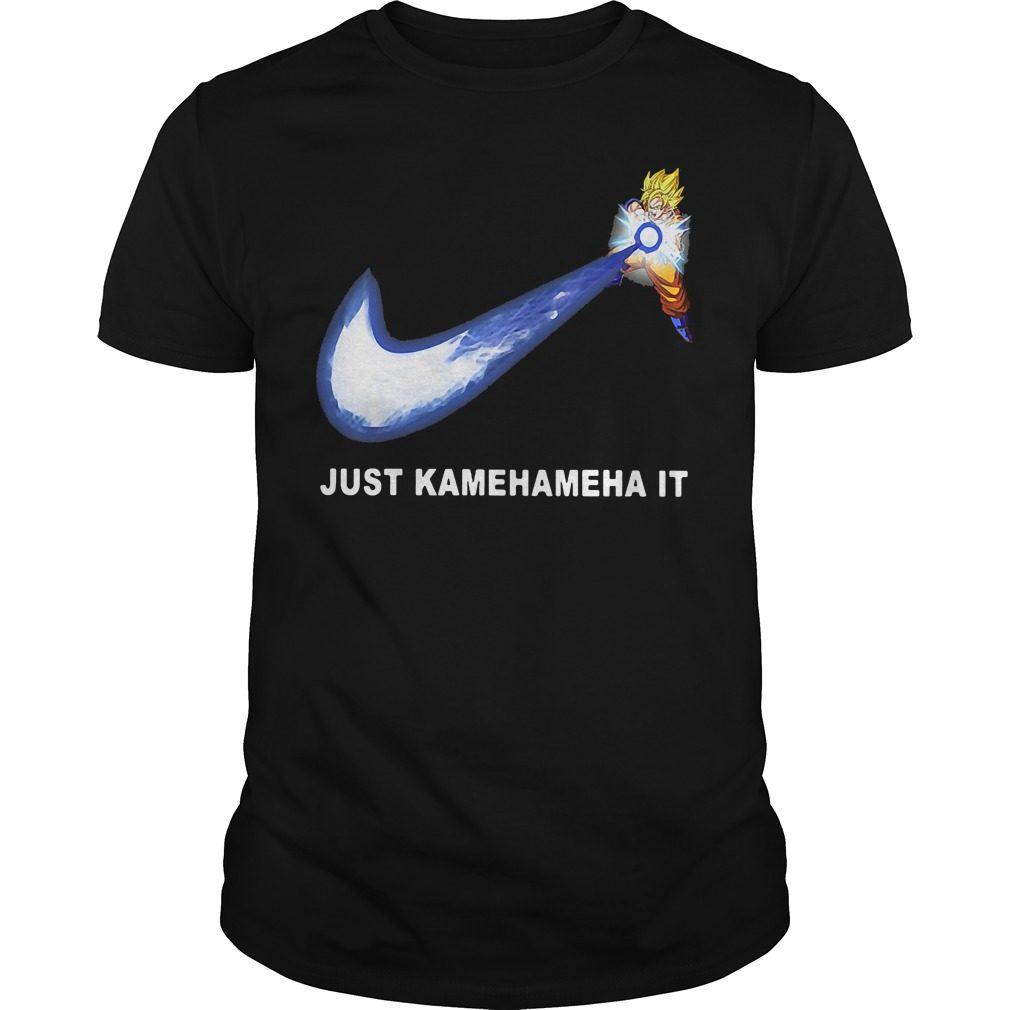 Dragonball Songoku Just Kamehameha Shirt