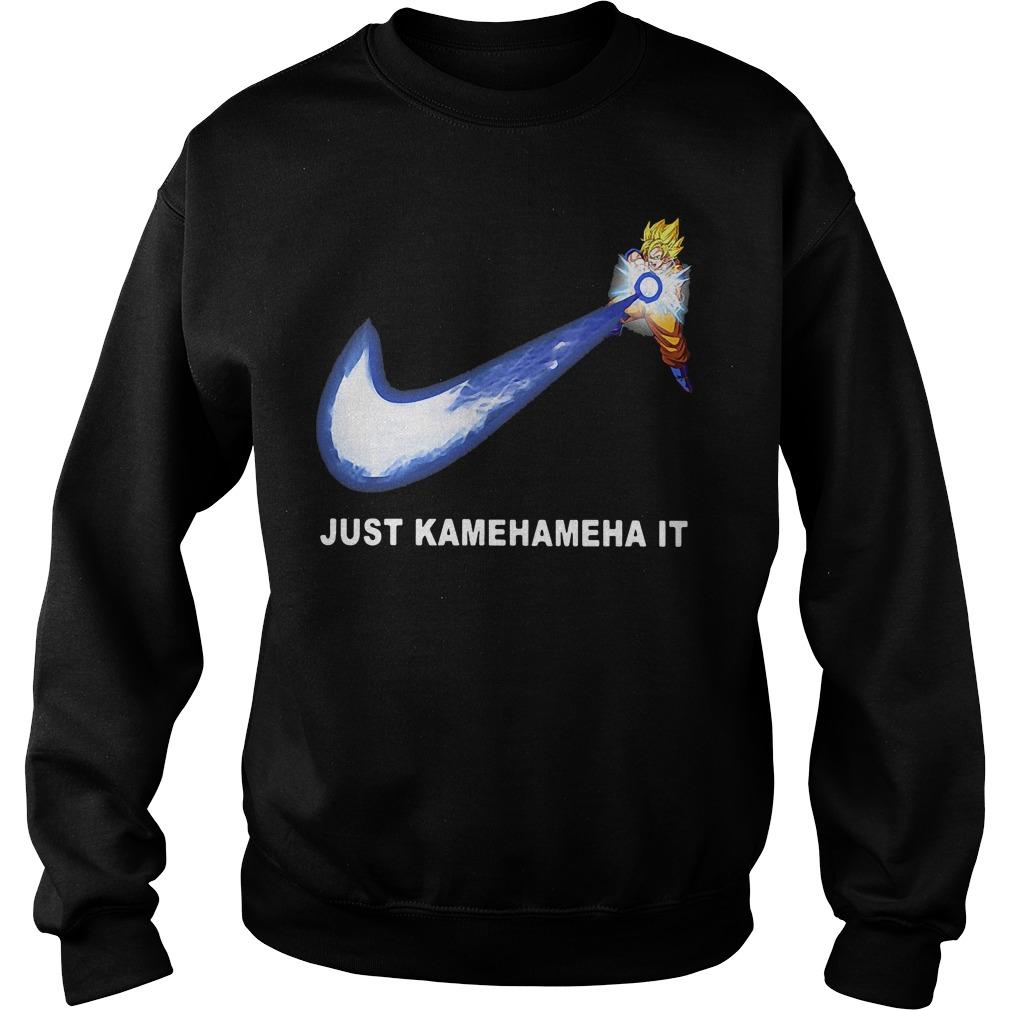 Dragonball Songoku Just Kamehameha Sweater