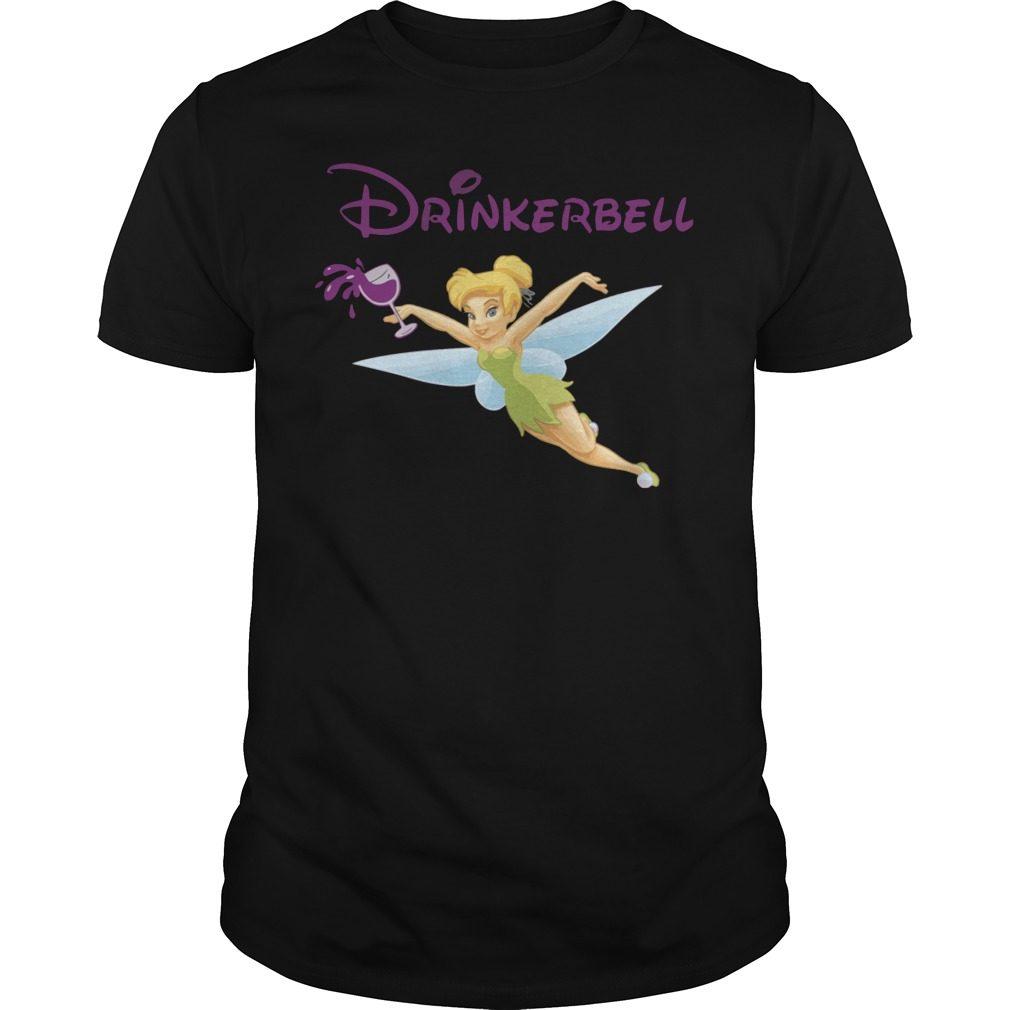 Drinker Bell Drinkerbell Drinking Guys Shirt