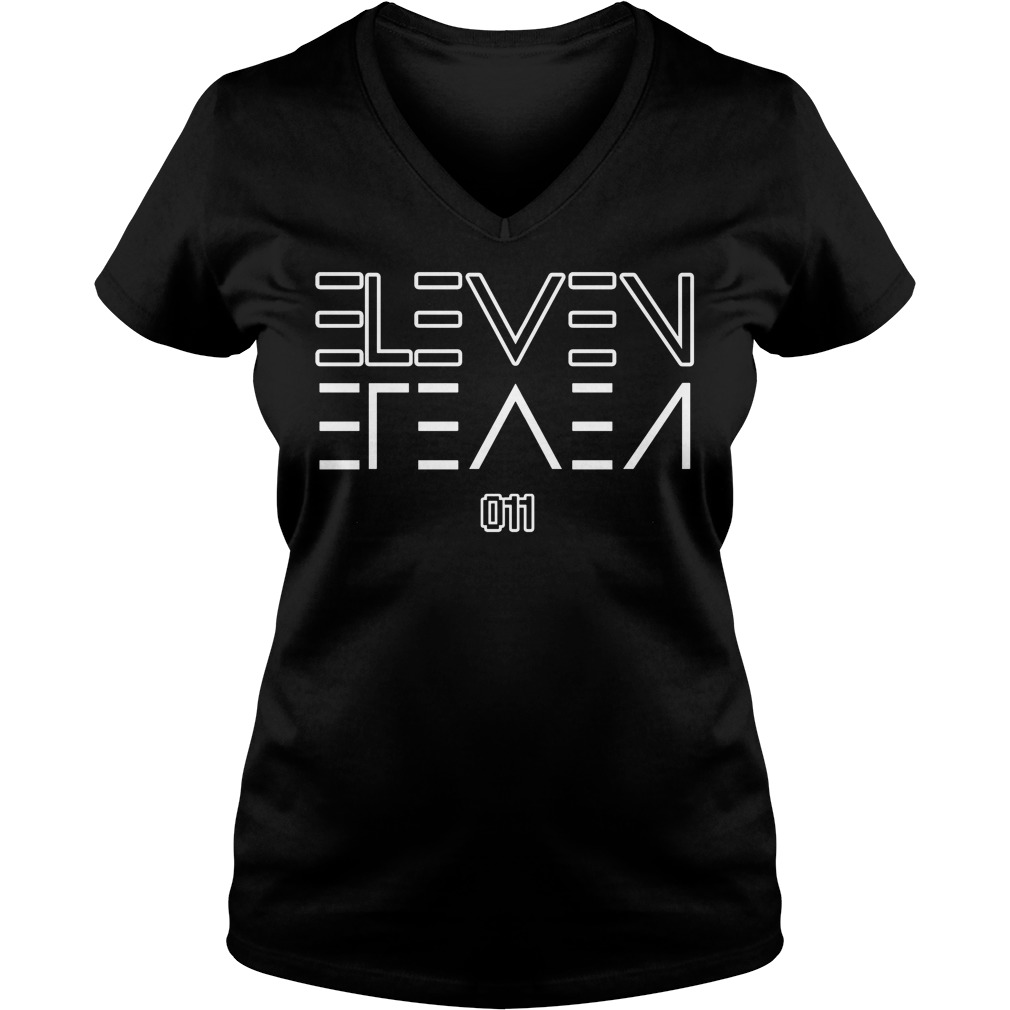 Eleven Upside V Neck T Shirt