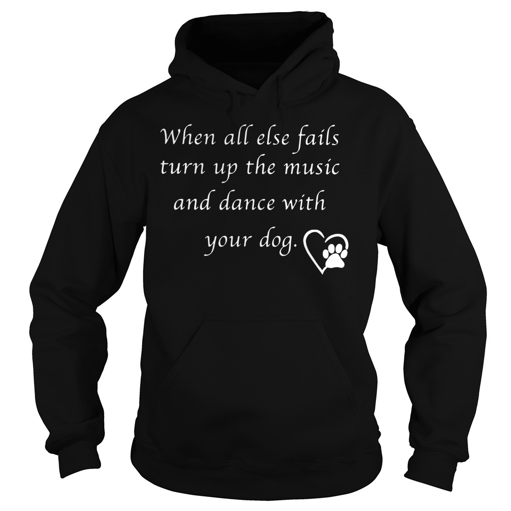 Else Fails Turn Music Dance Dog Hoodie