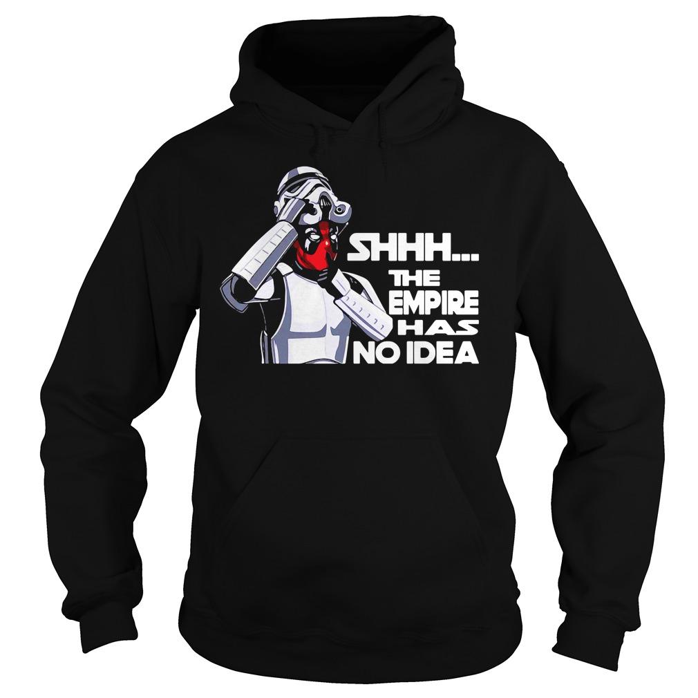 Empire No Idea Deadpool Star Wars Mash Comedy Hoodie