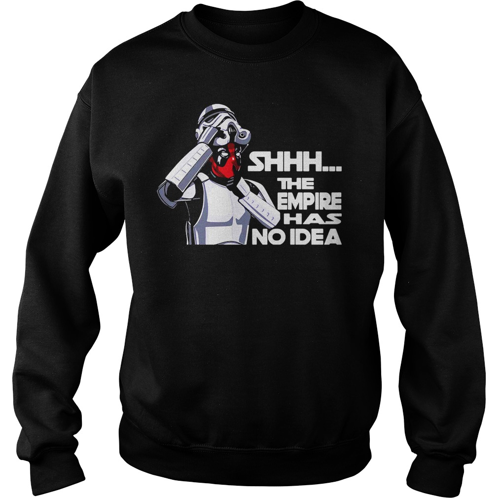 Empire No Idea Deadpool Star Wars Mash Comedy Sweater