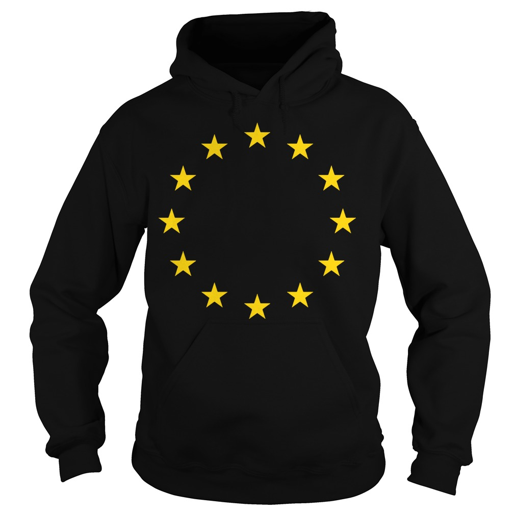 Europei Love European Union Eu Flag Hoodie