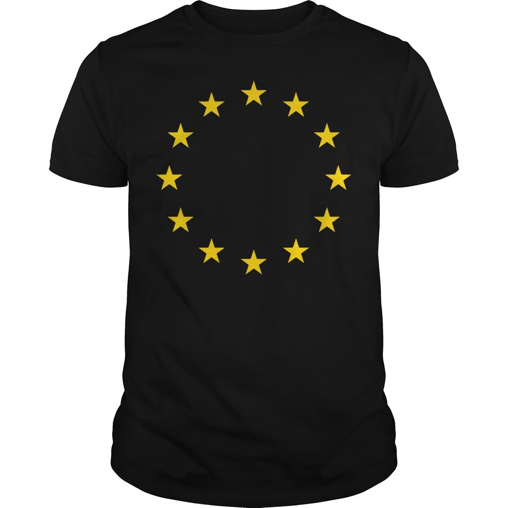 Europei Love European Union Eu Flag Shirt