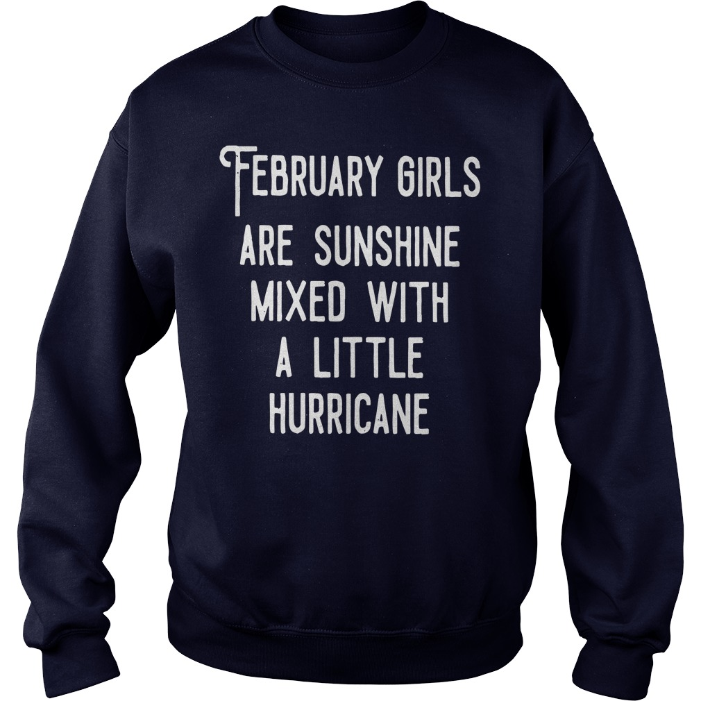 February Girls Sunshine Mixed Little Hurricane Sweater