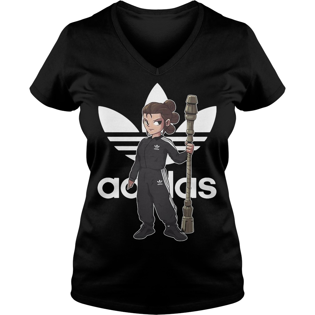 Force Rules Adidas V Neck T Shirt