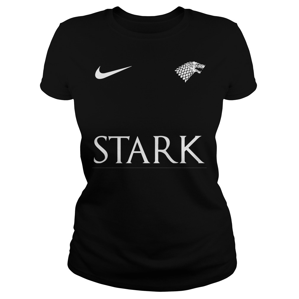 Game Of Thrones Nike Team Stark Ladies Tee