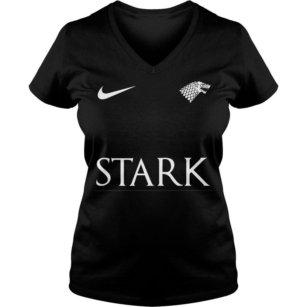 Game Of Thrones Nike Team Stark V-neck t-shirt