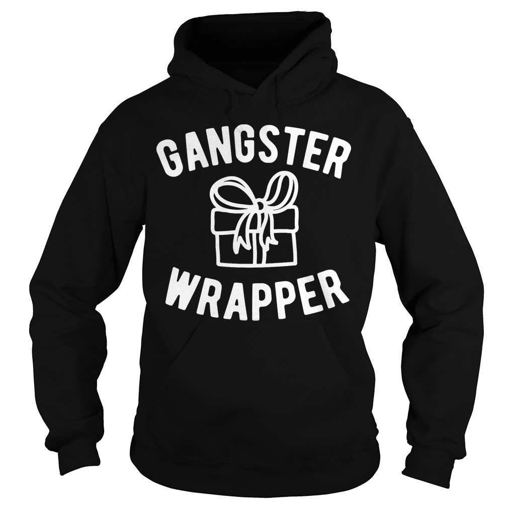 Gangster Wrapper Funny Christmas Hoodie