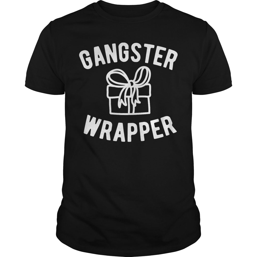 Gangster Wrapper Funny Christmas Shirt