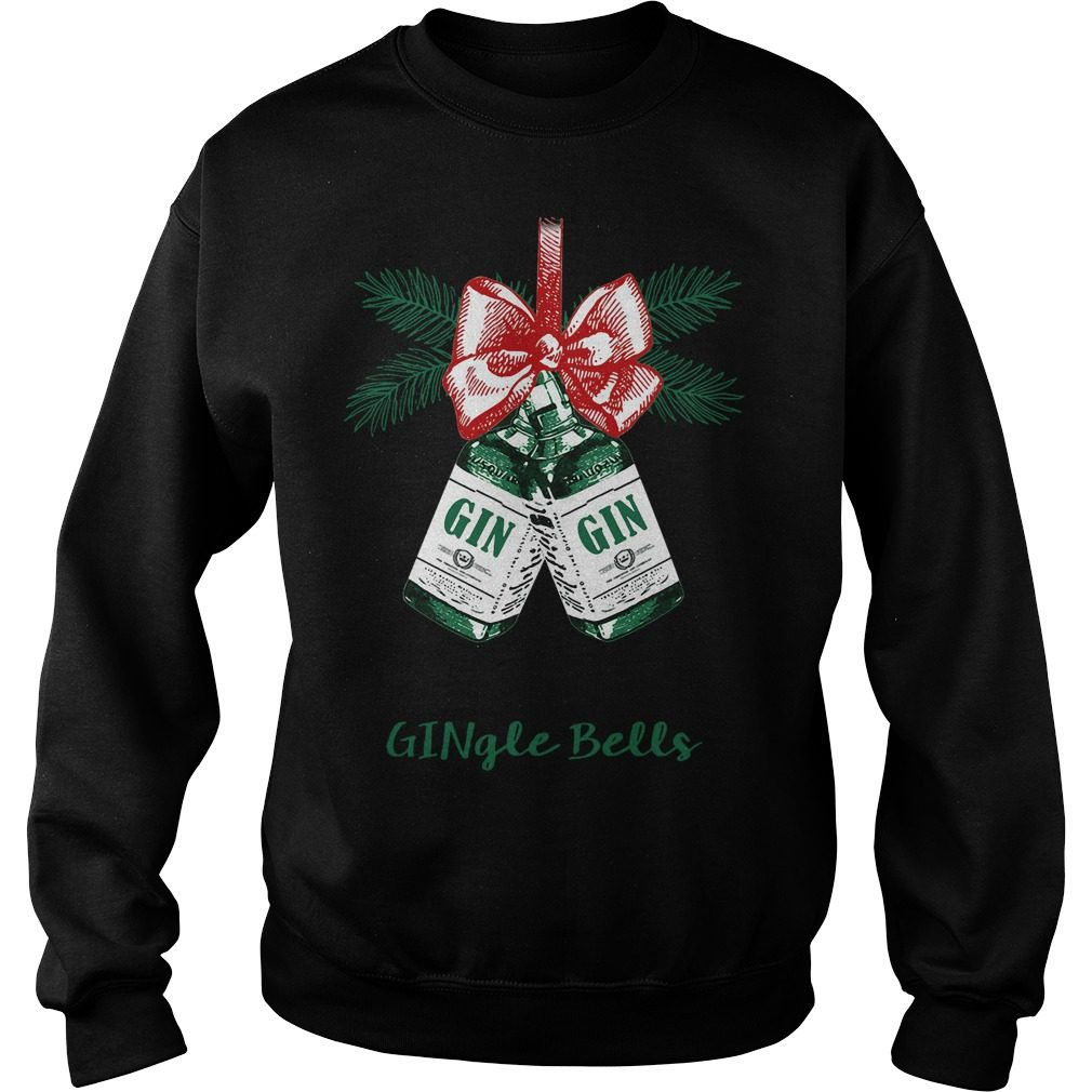 Gingle Bells Jingle Bell Gin Sweater
