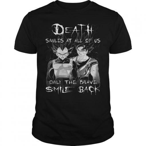 Goku Vegeta Brave Smile Shirt