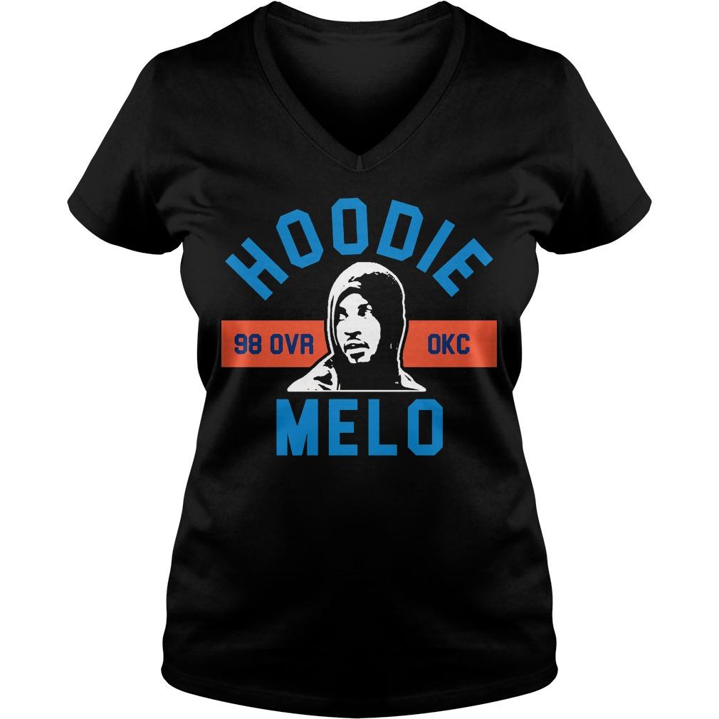 Hoodie Melo Okc V Neck T Shirt