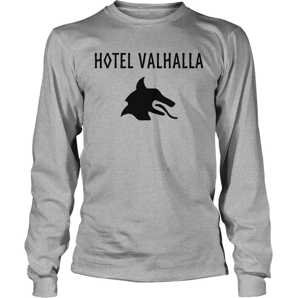 Hotel Valhalla Longsleeve Tee