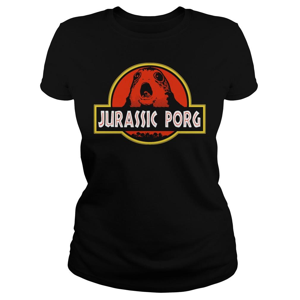 Jurassic Porg Ladies Tee