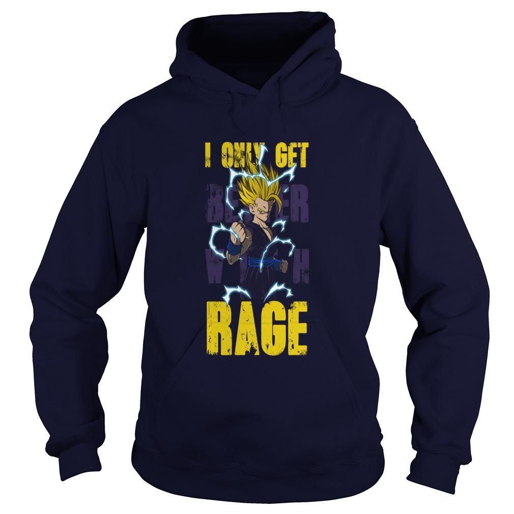 Just Get Better Rage Gohan Hoodie