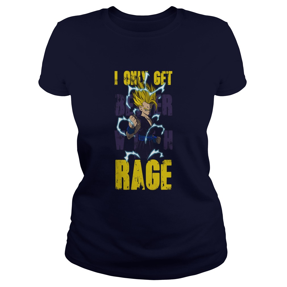 Just Get Better Rage Gohan Ladies Tee