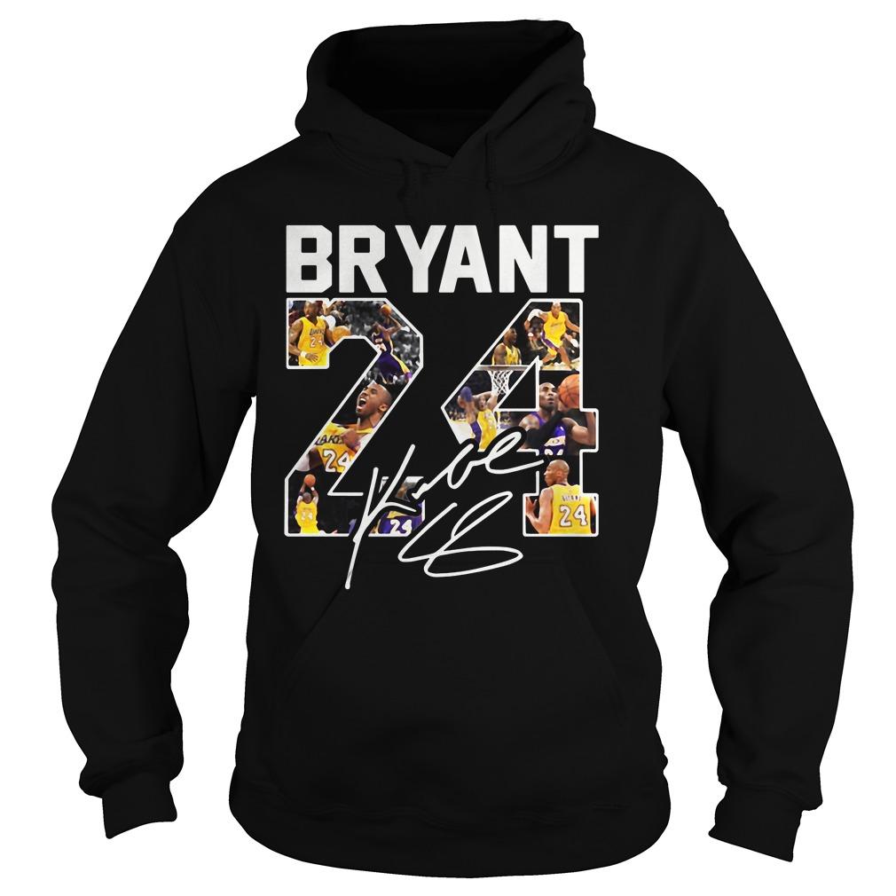 Kobe Bryant 24 Signature Hoodie