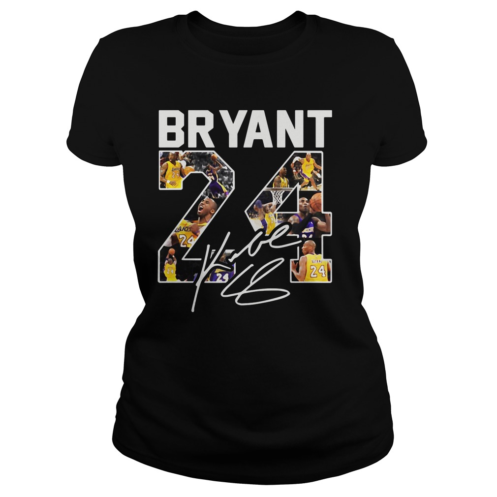 Kobe Bryant 24 Signature Ladies Tee