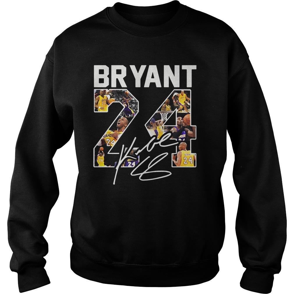 Kobe Bryant 24 Signature Sweater