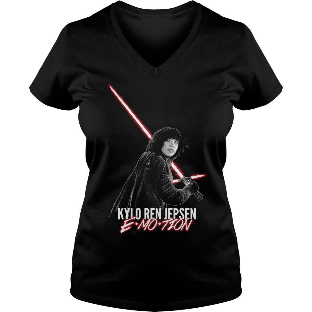 Kylo Ren Jepsen Emotion V Neck T Shirt