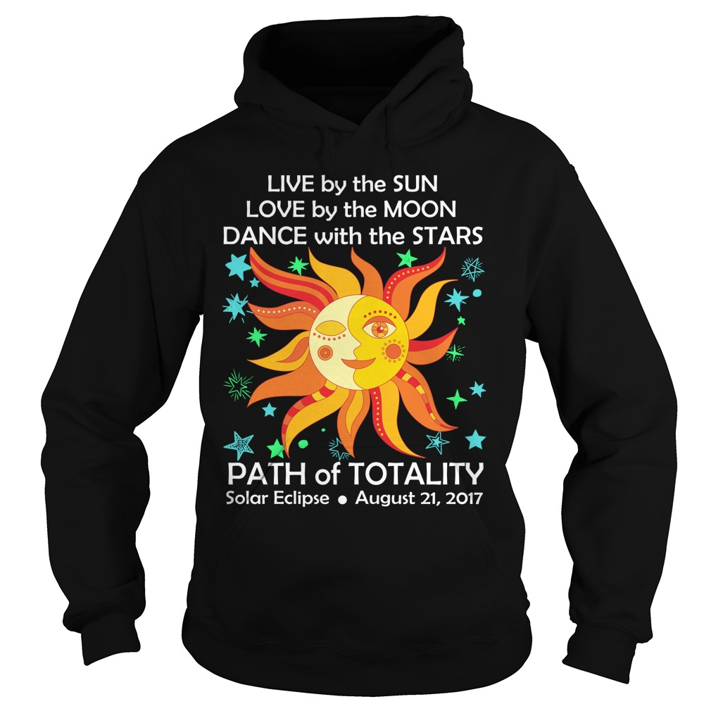 Love Live Dance Total Eclipse 2017 Sun Moon Stars Mens Womens Hoodie