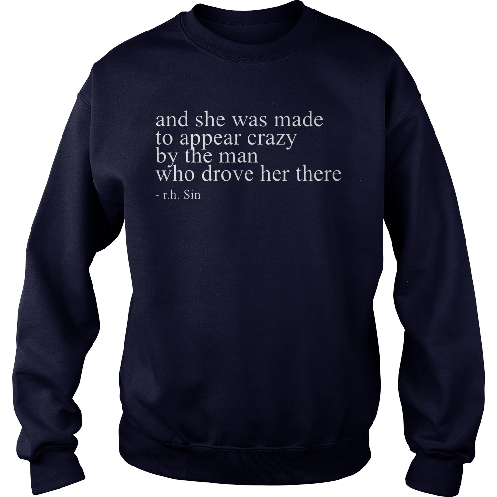 Made Appear Crazy Man Drove Sweater