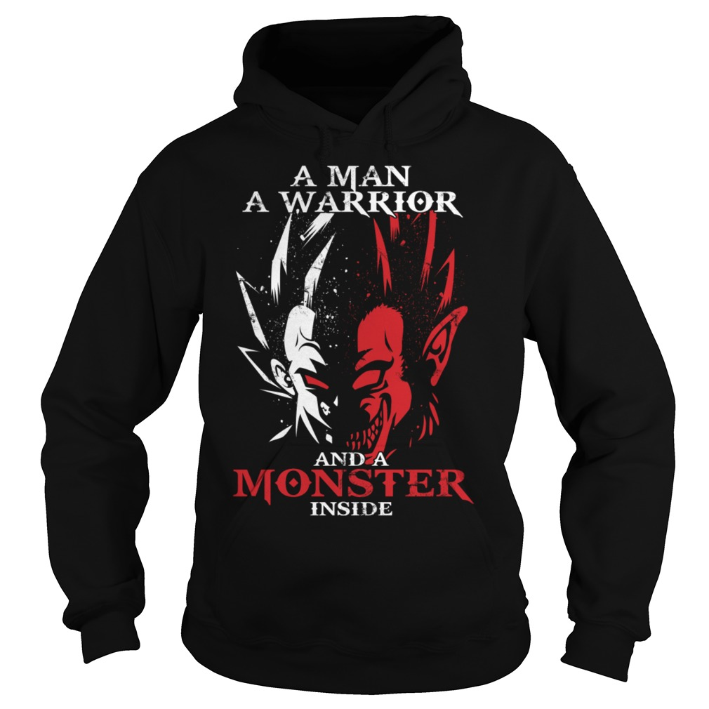 A Man A Warrior And A Monster Inside Shirt, Hoodie, Sweater And V Neck T Shirt