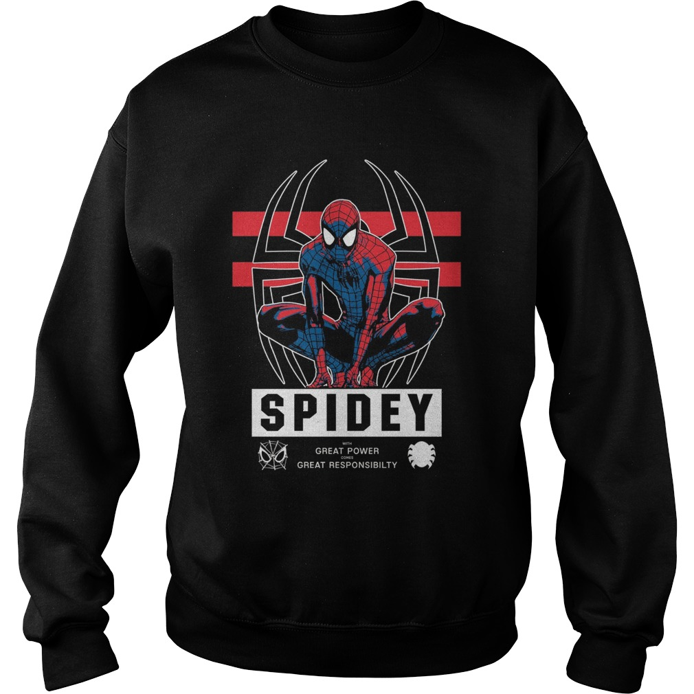 Marvel Spider Man Friendly Neighborhood Watch Power Sweater