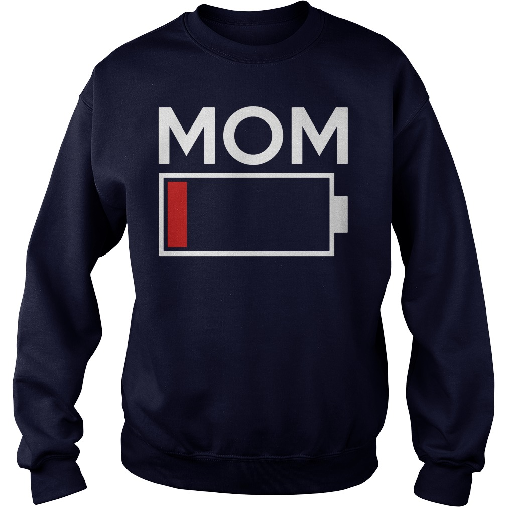 Mom Low Battery Energy Sweater