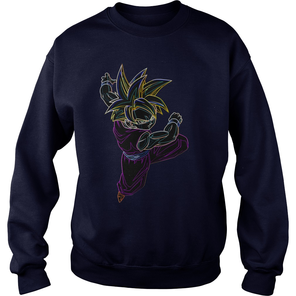 Neon Gohan Ssj Sweater