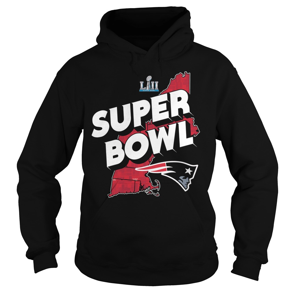 New England Patrick Super Bowl Winner Hoodie