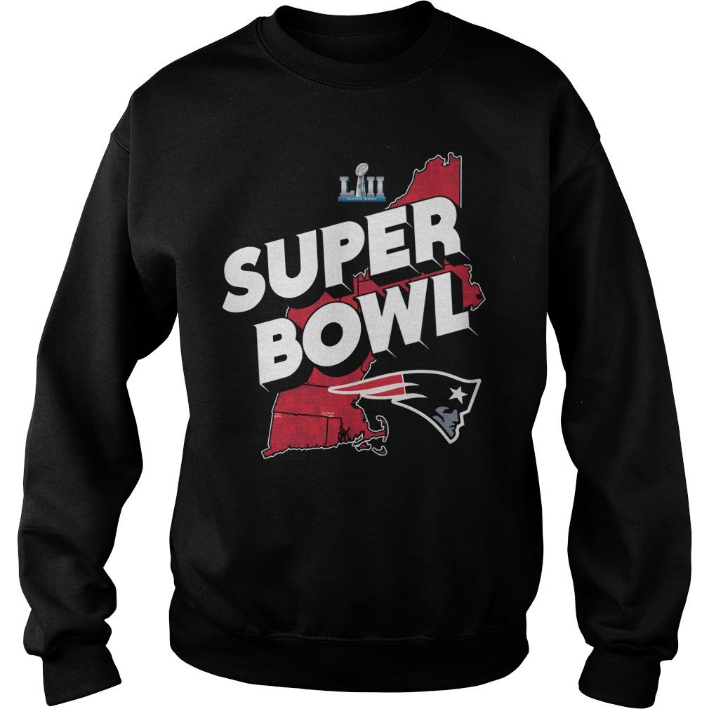 New England Patrick Super Bowl Winner Sweater