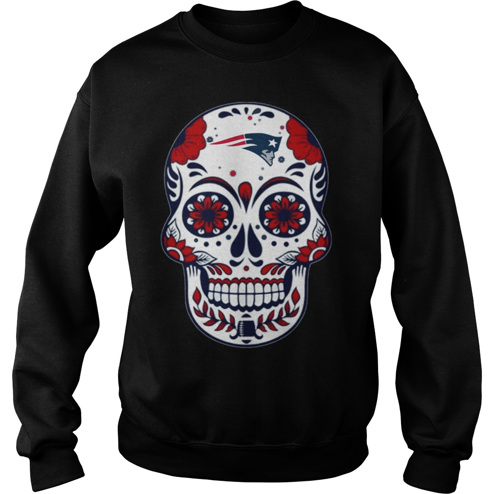 New England Patriots Skull Champions 2018 Sweater