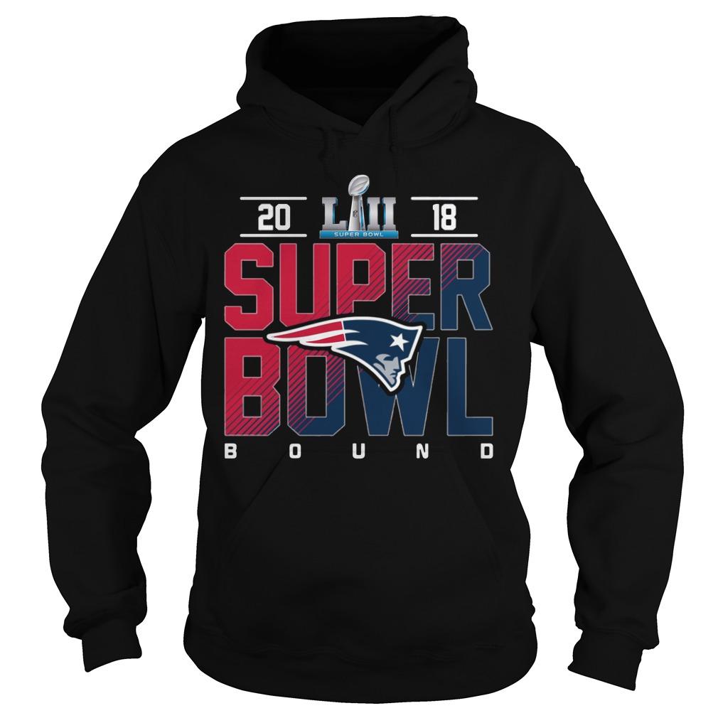 New England Patriots Super Bowl Champions 2018 Hoodie