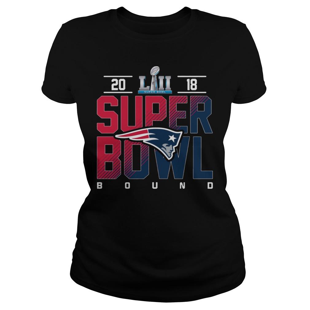 New England Patriots Super Bowl Champions 2018 Ladies Tee