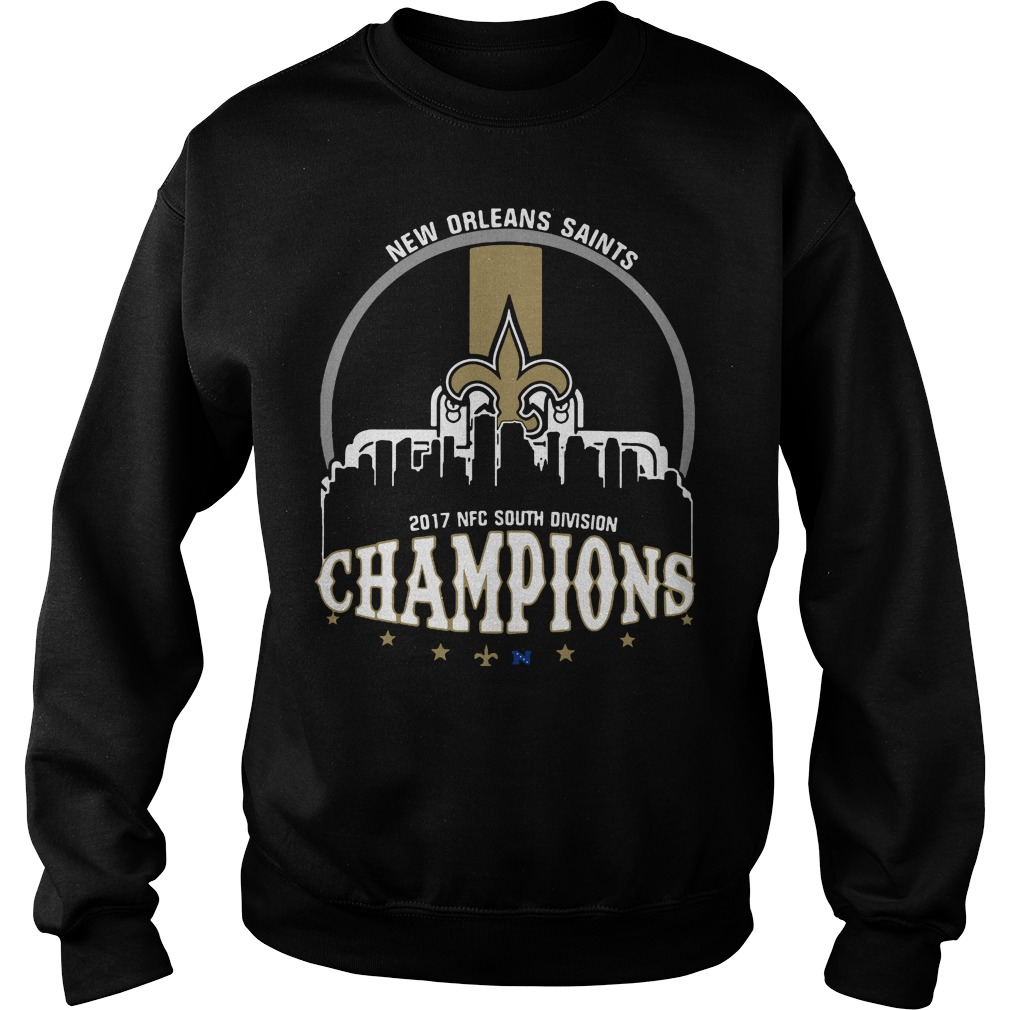 New Orleans Saints 2017 Nfc South Division Champion Sweater