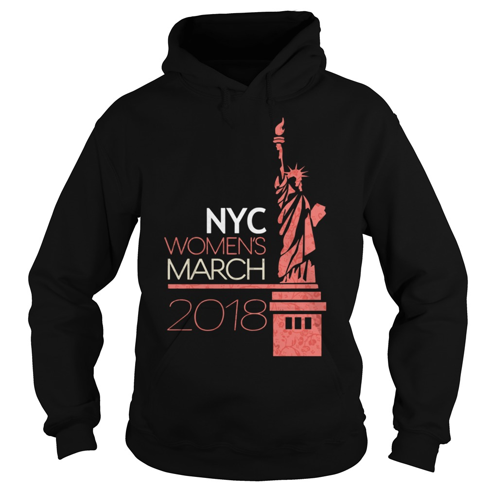 New York City Womens March 2018 Hoodie