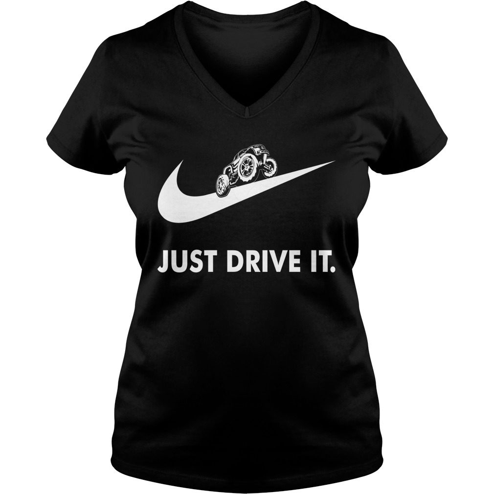 Off Road Just Drive V Neck T Shirt