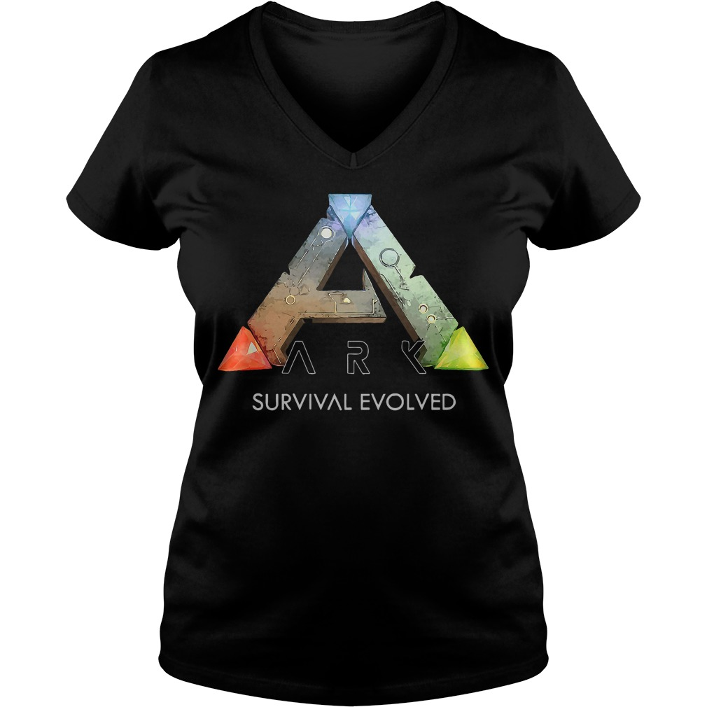 Official Ark Survival Evolved V-neck t-shirt