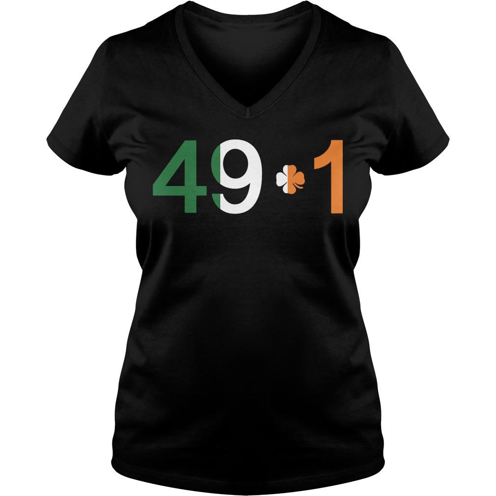 Official Conor 49 1 V Neck T Shirt