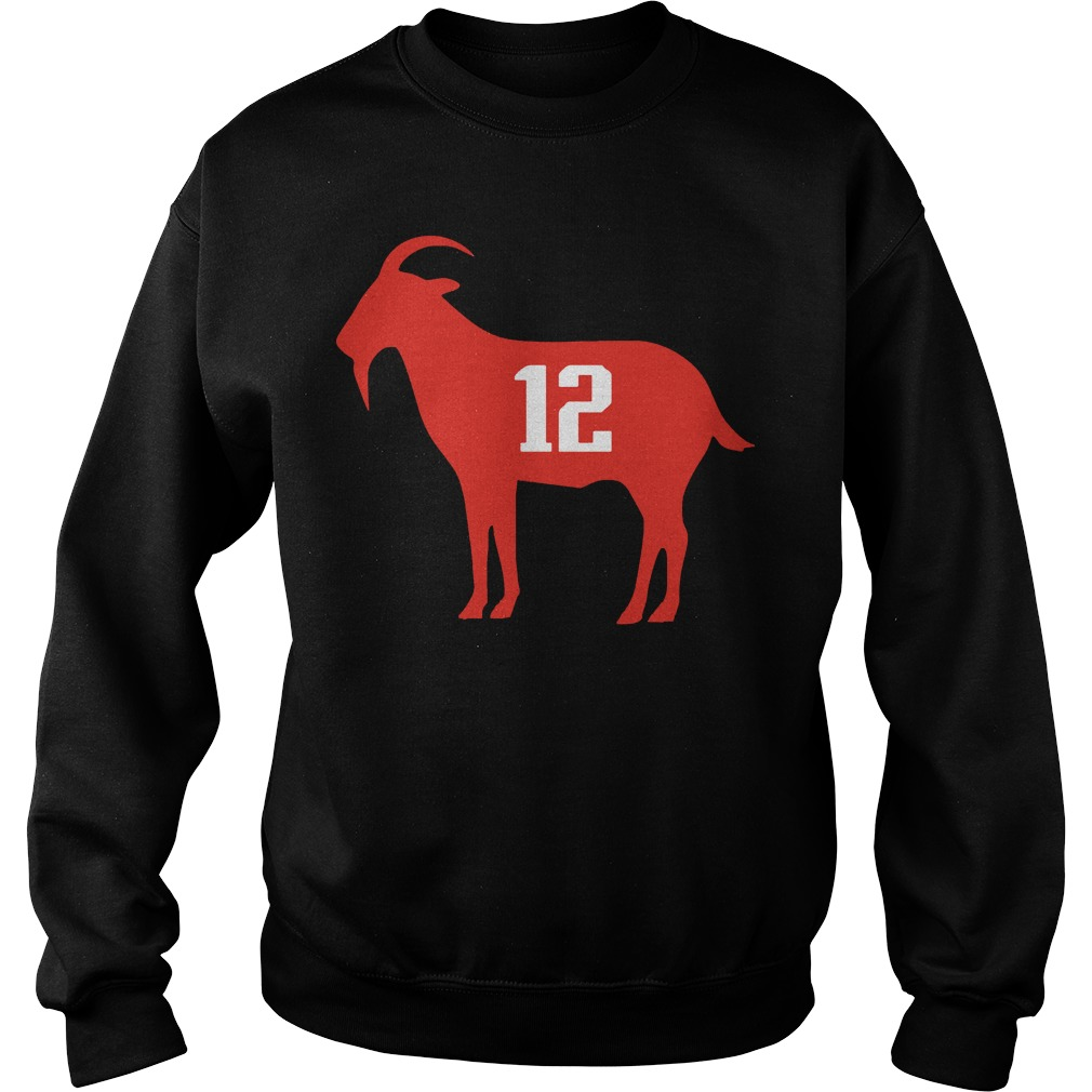 Official Goat Tom Brady Sweater