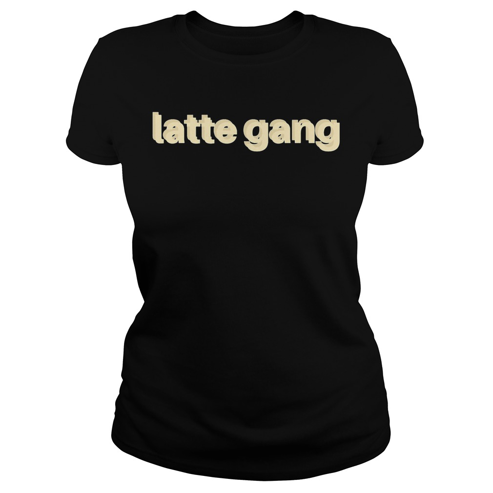 Official Latte Gang Ladies Tee