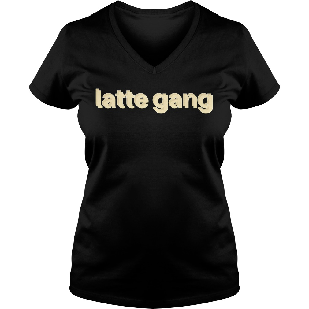 Official Latte Gang V-neck t-shirt